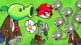 Angrybirds VS Zombies ultimate war