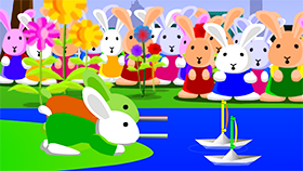 Bunny Bloony 4 - The Paper Boat