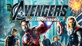 The Avengers - Spot the Difference