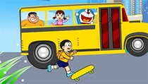 Doraemon Late To School