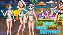 Girls Surf Contest