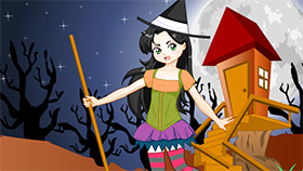 Student Witch Dress Up