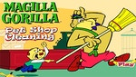Magilla Gorilla - Pet Shop Cleaning
