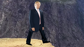 Push Trump Off A Cliff Again!