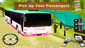 Off-Road Uphill Passenger Bus Driver 2k20